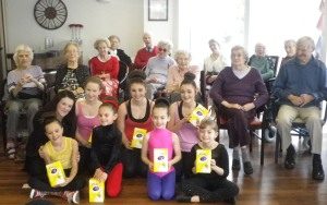 Dance School Visit Residents at Alderwood