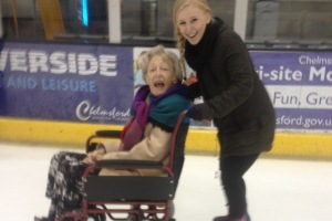 Alderwood Residents Take to the Ice